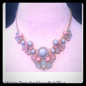 Waterdrop Bib Necklace